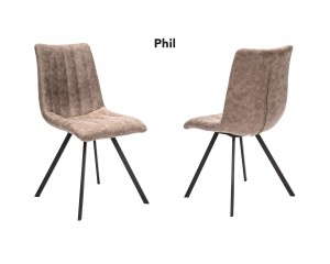 Chaise phil beige