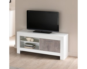 MODENA TV MEUBEL 112 wit-beton