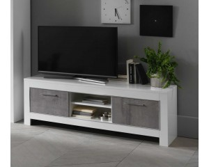 MODENA TV MEUBEL 160 wit-beton