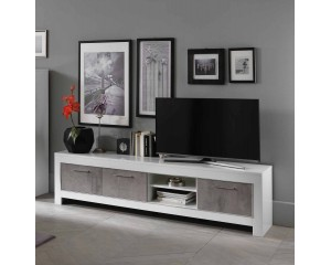 MODENA TV MEUBEL 207 wit-beton